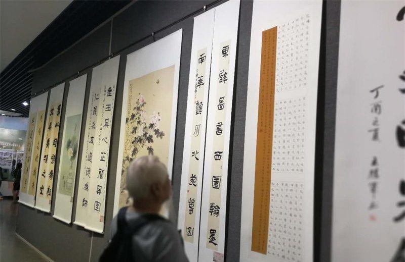文明是最美的风景 济宁创建文明城市书画摄影展开幕