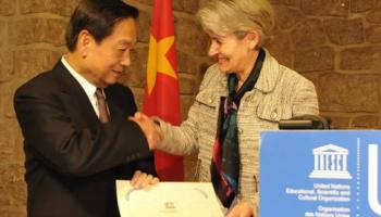 """韩美林获联合国""""和平艺术家""""称号"""