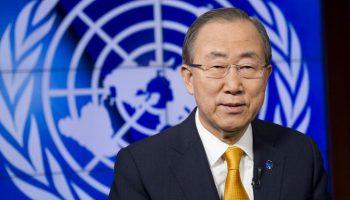 联大正式辩论 潘基文呼吁加强对联合国和平行动的投入