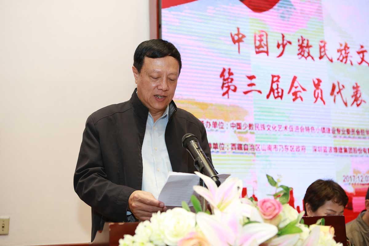 中国少数民族文化艺术促进会第三届会员代表大会二次理事会在深圳召开