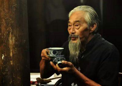 茶禅一味书法作品欣赏