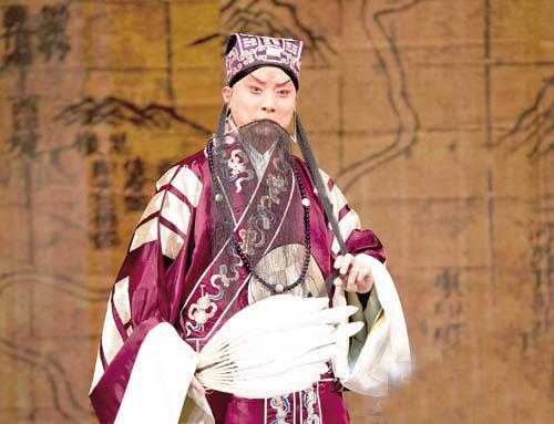 京剧名家张建国:京剧美,就是文化美