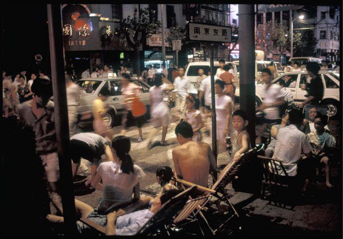 上海街头,一段又一段惬意的时光