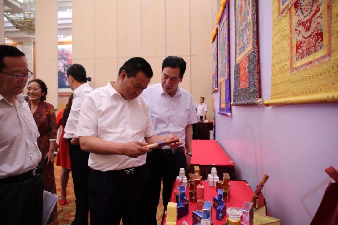 甘南州藏中药推介会在深举行引多方关注