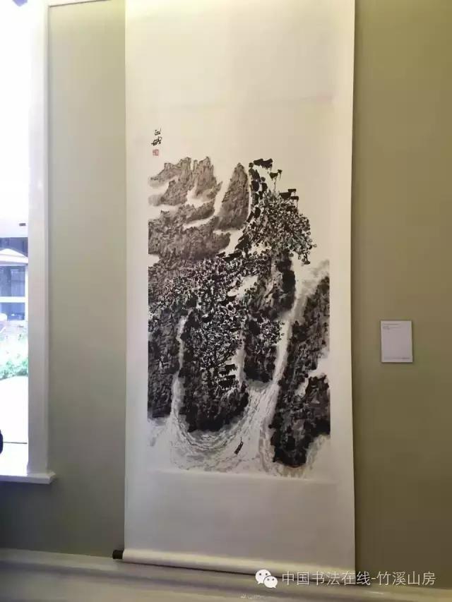 刘正成|剑桥徐志摩诗歌艺术节书画展