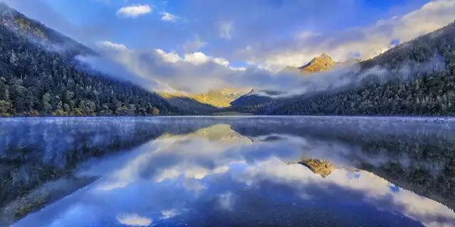 川西甘孜州,不染尘埃的天堂风光