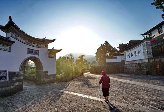 独自的旅行——和顺古镇:一个有故事的地方