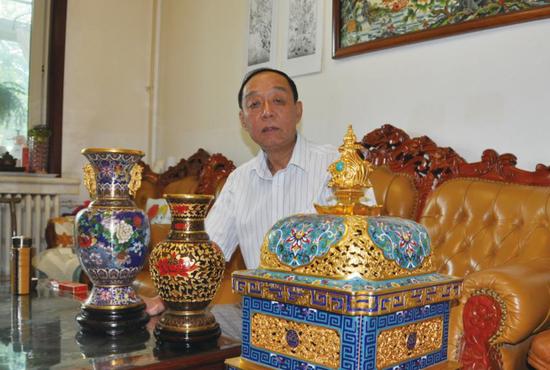 百年金氏宫廷景泰蓝学术研讨会在故宫举行