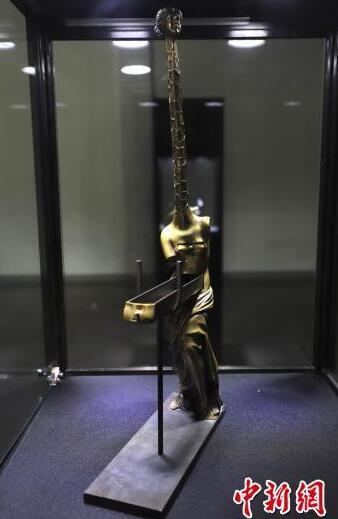 毕加索、达利真迹亮相首届平遥国际雕塑节
