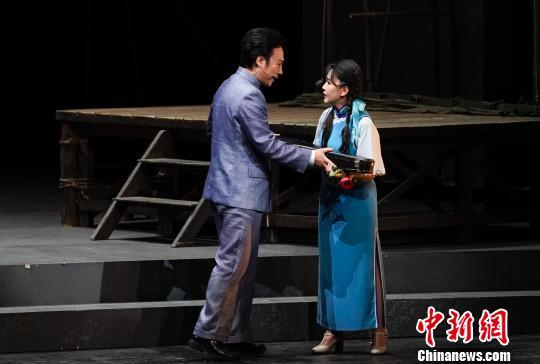 歌唱家廖昌永领衔歌剧《贺绿汀》首次晋京演出