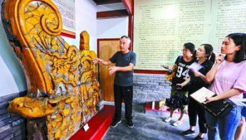 乡情村史馆传承千年琉璃文化
