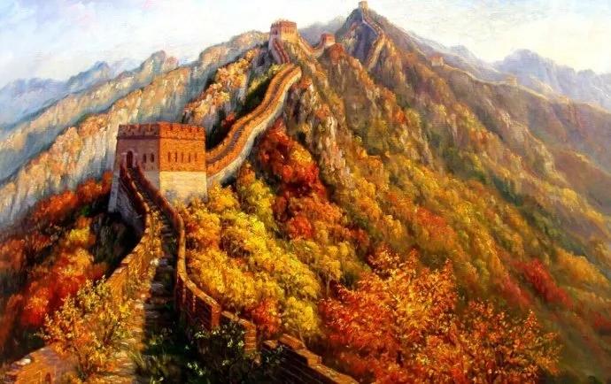 走进法国大皇宫的中国油画家