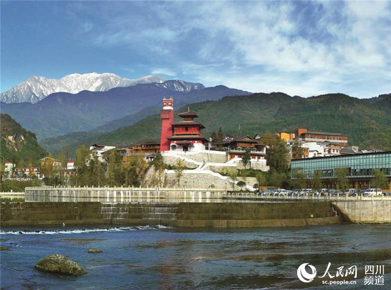 水磨镇 I 成功打造羌族特色旅游小镇