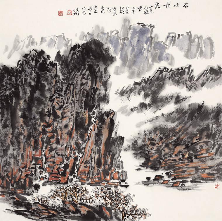 陈仕彬 I 用水墨呈现十年后的汶川新貌