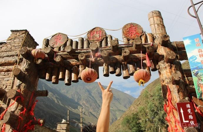 龙溪羌人谷▎带你走进一个古老的部落时代