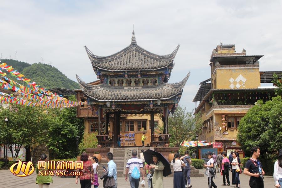 水磨镇涅槃重生  工业重镇成功转型康养旅游景区