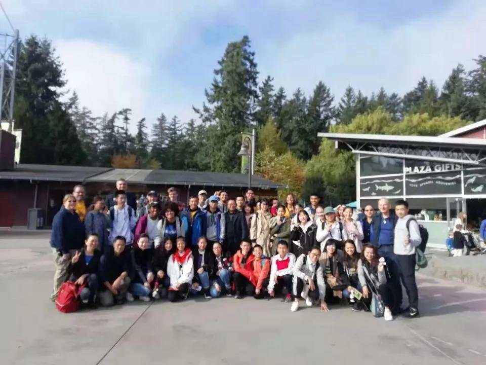 汶中学子赴美游学,感受美国学校家庭文化