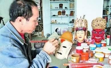 """贵州""""雕傩""""大师王国华的文化自信"""