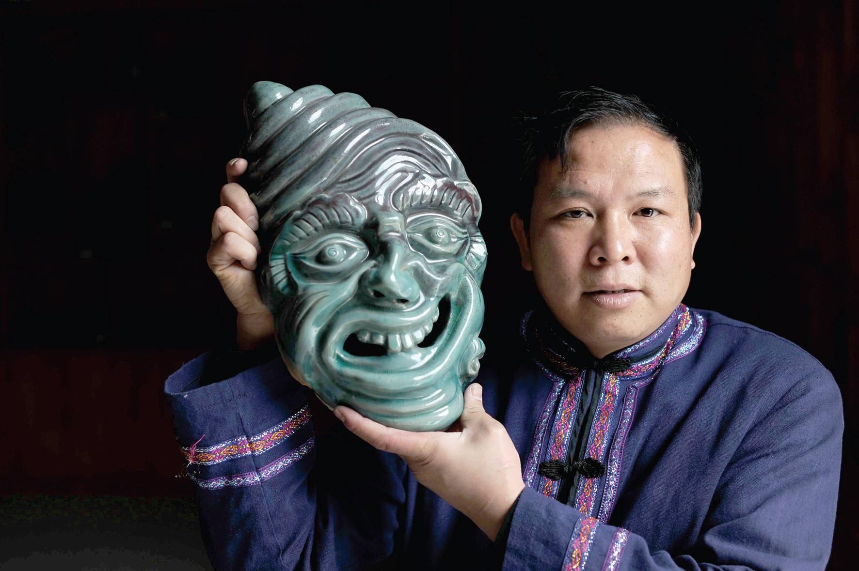非遗匠人张禄麒:火与土相生成静美的牙舟陶