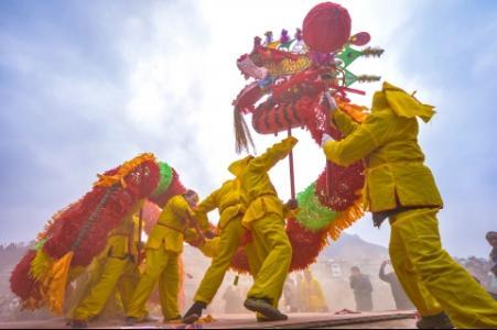 贵州非物质文化遗产——仡佬毛龙节