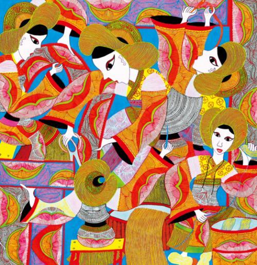 新兴画种——贵州农民画
