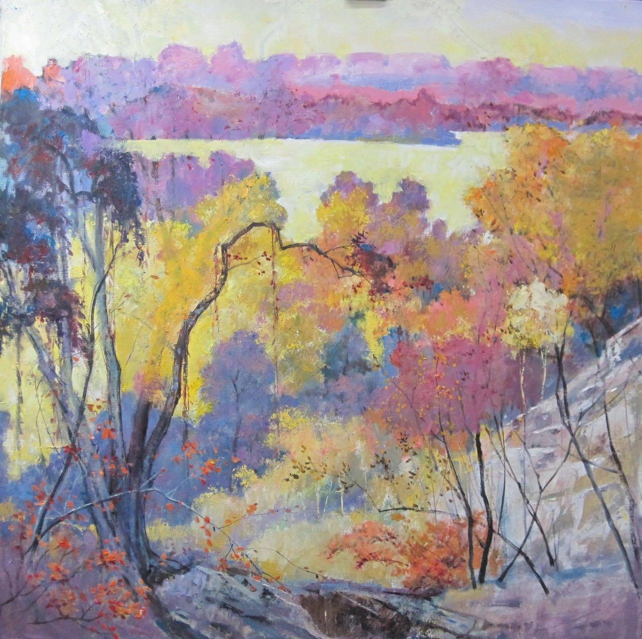 展讯 | 倾情山河·深耕时光 ——朱曜奎从教70周年艺术展