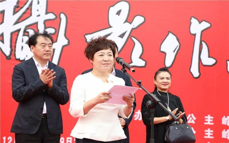 """公主岭市举办庆祝新中国成立70周年""""我和我的祖国""""书法美术摄影作品展"""