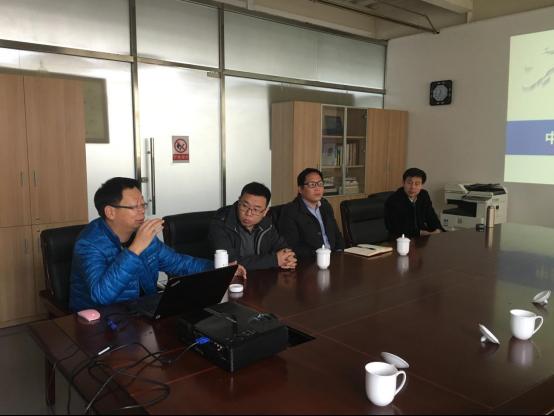 山东肥城市副市长王爱新率团考察中关村互联网文化创意产业园