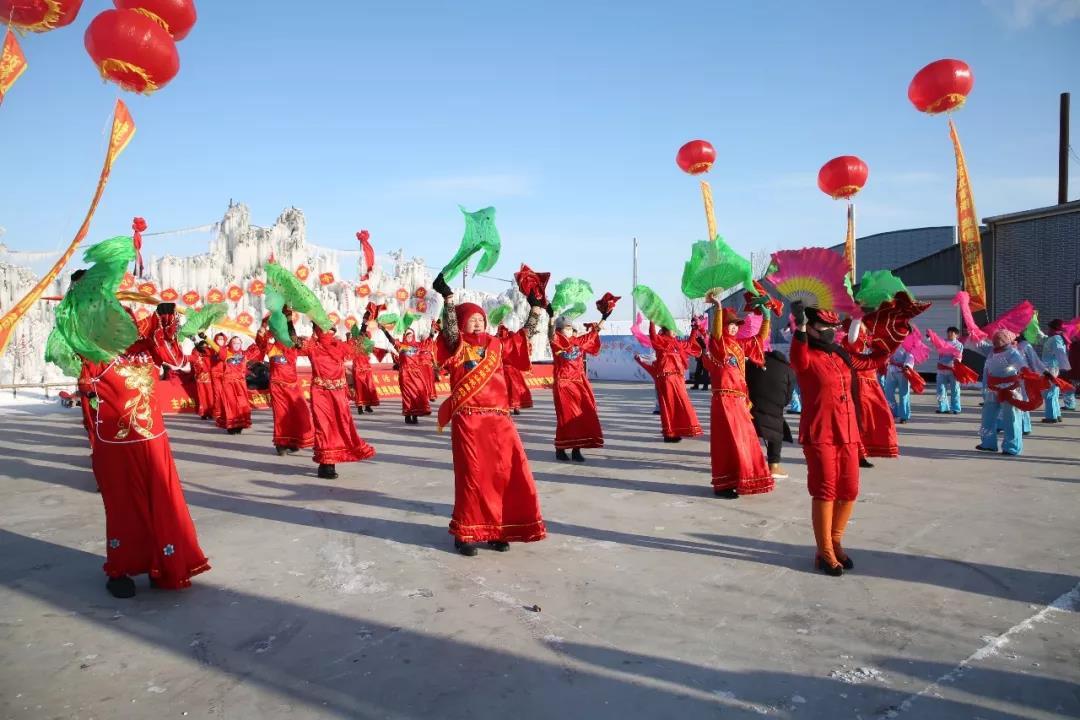 公主岭市全民冰雪系列体育活动暨第五届双青湖冰雪节启动