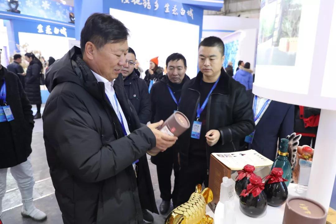 公主岭市展馆亮相第四届中国·吉林国际冰雪产业博览会 巴音朝鲁景俊海参观公主岭市展区