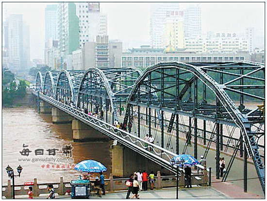 百年沧桑兰州中山桥:一座桥与一个城市的记忆