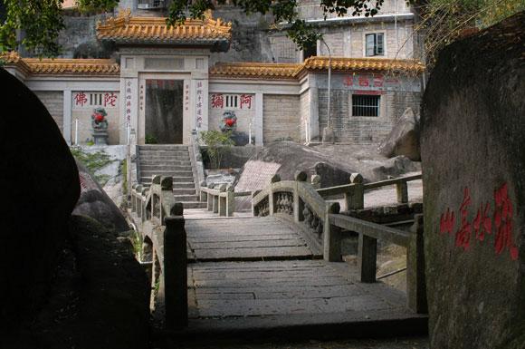 风景名胜-万石植物园
