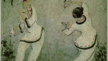 """青楼走出的""""一代画魂"""":中国第一个进入卢浮宫的画家潘玉良"""