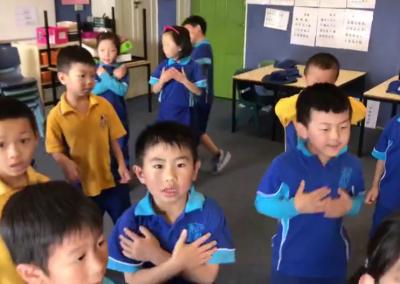 2019澳大利亚悉尼朗读进课堂视频