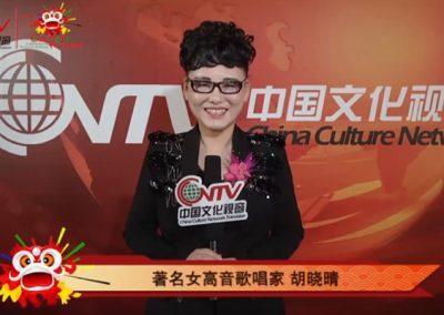 著名女高音歌唱家胡晓晴:春节就是欢聚的日子,愿大家团团圆圆 和和美美