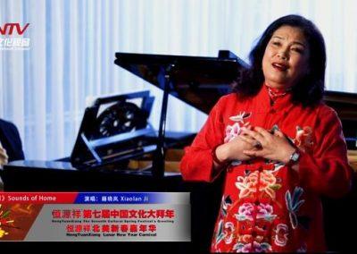 无论我漂泊有多遥远也是故乡的一片云荷兰华人艺术团团长籍晓岚深情演唱《乡音乡情》