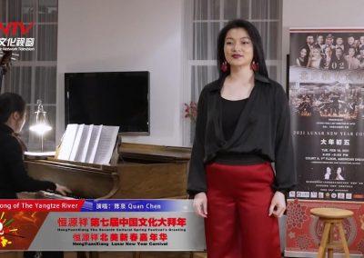 旅美青年歌唱家陈泉 深情演唱《长江之歌》 唯美高音 气势磅礴