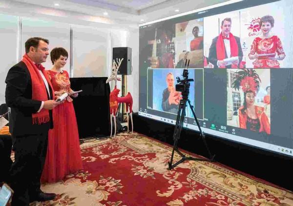 第七届中国文化大拜年北美新春嘉年华8小时精彩直播成功举办