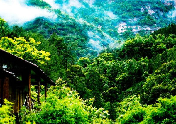 石台醉山野:魂牵梦绕的地方