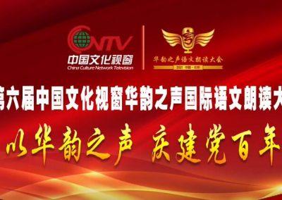 2021第六届中国文化视窗华韵之声国际语文朗读大会宣传片