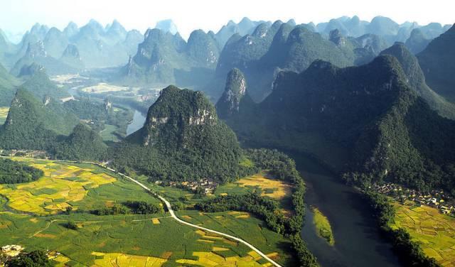 广西:山水秀 百姓富
