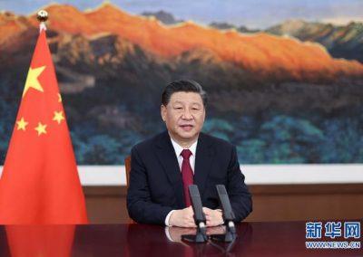 习近平在博鳌亚洲论坛2021年年会开幕式上发表主旨演讲