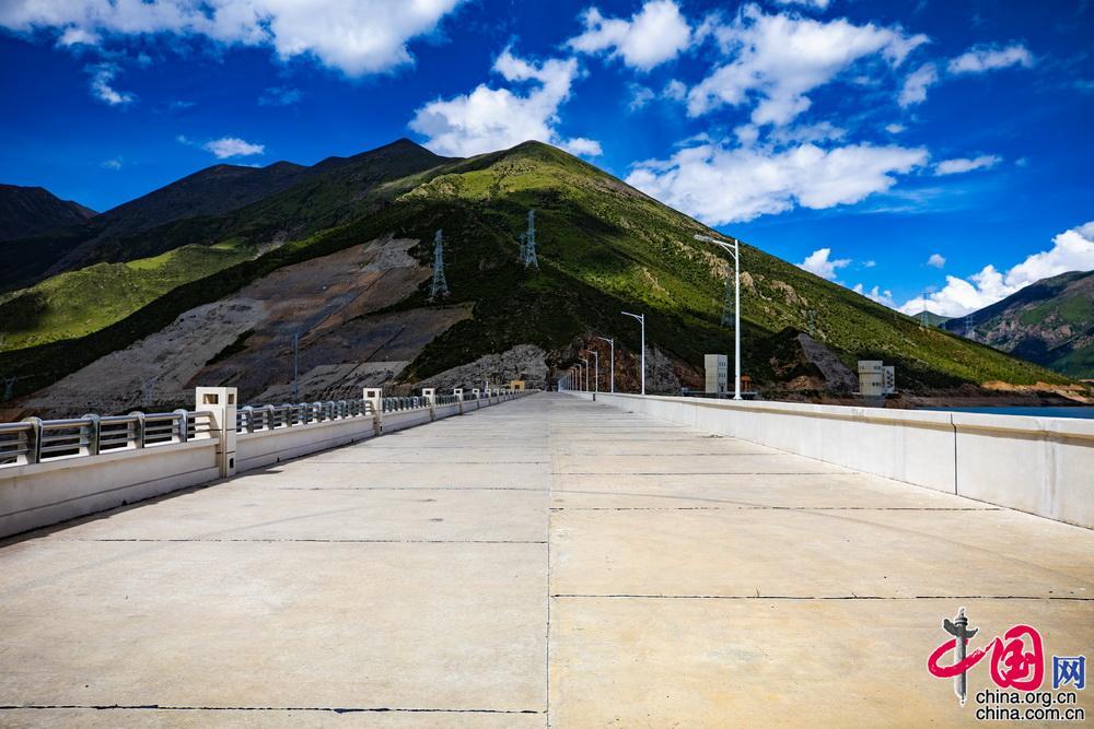 """""""西藏三峡""""——西藏旁多水利枢纽"""