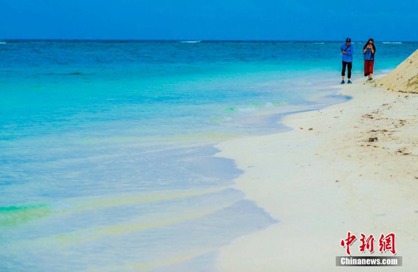 三沙的那片海