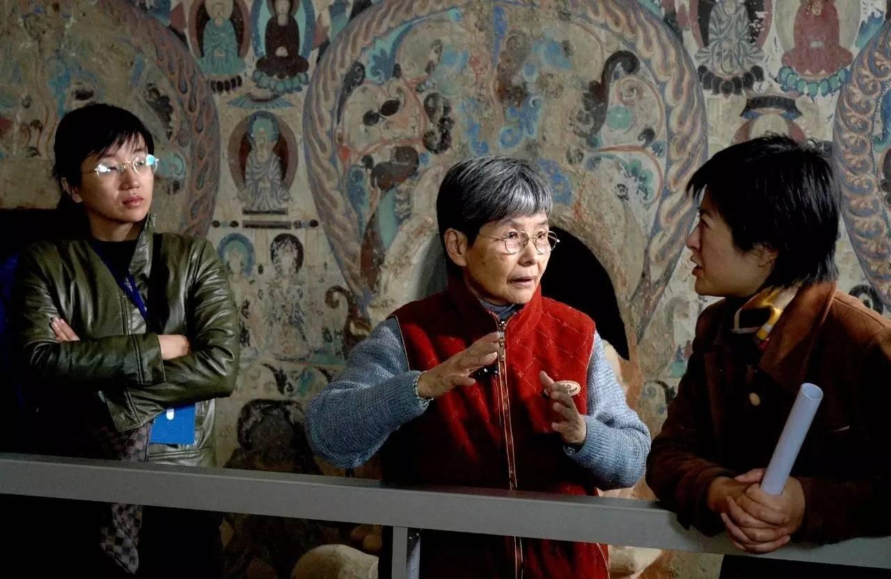 """敦煌研究院名誉院长樊锦诗:择一事终一生的""""敦煌女儿"""""""
