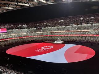 东京奥运会如约而至 开幕式展现情同与共