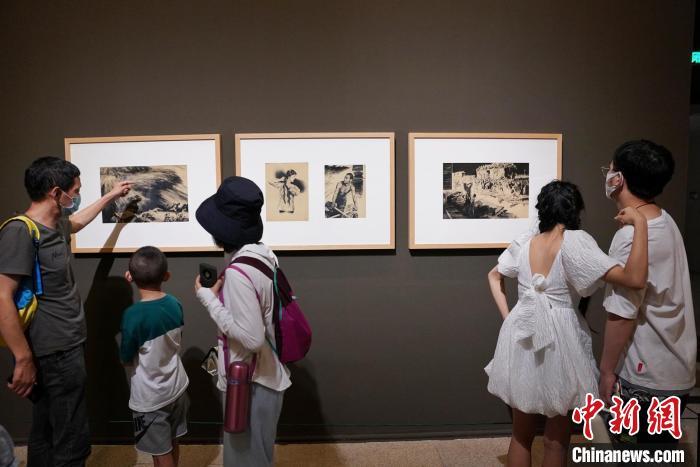 中国美术馆藏黄河题材美术精品展——131件中国美术馆藏精品尽现黄河形魂之美