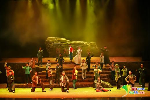 川剧《烈火中永生》在京举行首场演出