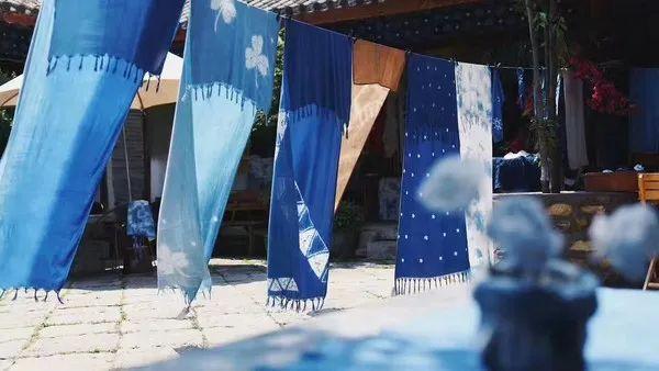 非遗蓝染技艺染出最好看的颜色——中国蓝