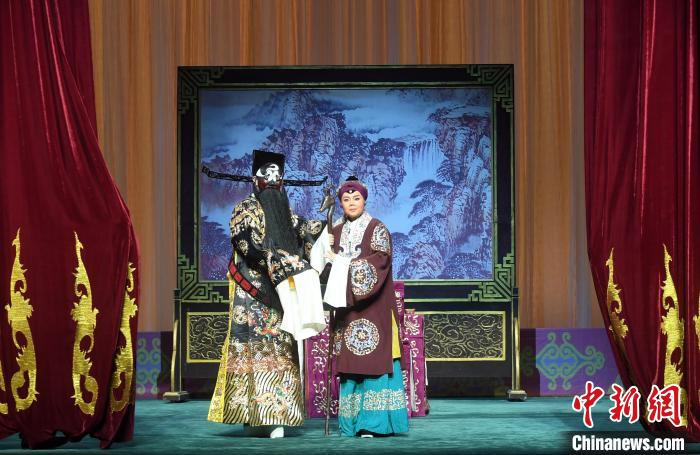 福建京剧院经典折子戏线上献演 青年演员展示名家传艺成果